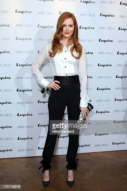 Darby Stanchfield attends a party hosted by Jimmy Choo & Esquire during the London Collections SS14 on June 16, 2013 in London, England.