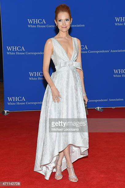 Darby Stanchfield attends the 101st Annual White House Correspondents' Association Dinner at the Washington Hilton on April 25 2015 in Washington DC