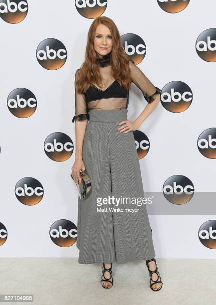 Darby Stanchfield attends the 2017 Summer TCA Tour Disney ABC Television Group at The Beverly Hilton Hotel on August 6 2017 in Beverly Hills...