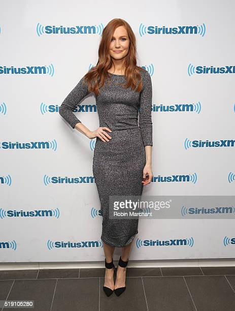 Darby Stanchfield visits at SiriusXM Studio on April 4 2016 in New York City