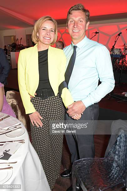 Darcey Bussell and Angus Forbes attend day two of the Audi Polo Challenge at Coworth Park on May 31 2015 in London England