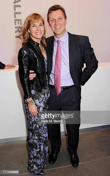 Darcey Bussell and Angus Forbes attend the 'Arts For Life' charity auction hosted by Susan Hayden Nadja Swarovski and Natalia Vodianova to raise...