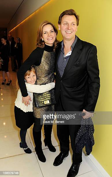 Darcey Bussell and Angus Forbes attend the English National Ballet Christmas Party at St Martins Lane Hotel on December 13 2012 in London England