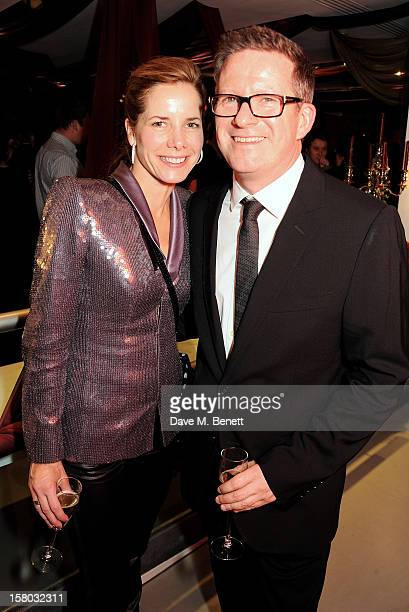 Darcey Bussell and Matthew Bourne attend an after party following the press night performance of Matthew Bourne's Sleeping Beauty at Sadler's Wells...