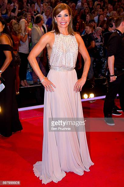 Darcey Bussell arrives for the launch of 'Strictly Come Dancing 2016' at Elstree Studios on August 30 2016 in Borehamwood England