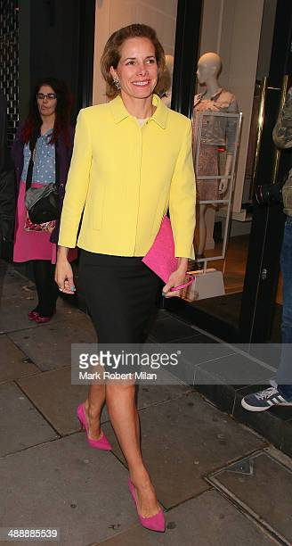 Darcey Bussell attending the London Cabaret Club VIP opening night at the Collection on May 8 2014 in London England