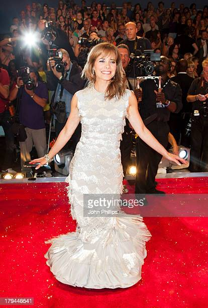 Darcey Bussell attends the red carpet launch for 'Strictly Come Dancing' at Elstree Studios on September 3 2013 in Borehamwood England