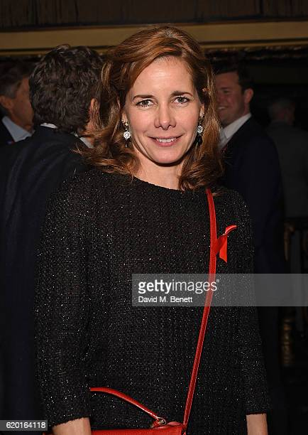 Darcey Bussell attends the Terrence Higgins Trust's Supper Club after party at Cafe de Paris on November 1 2016 in London England