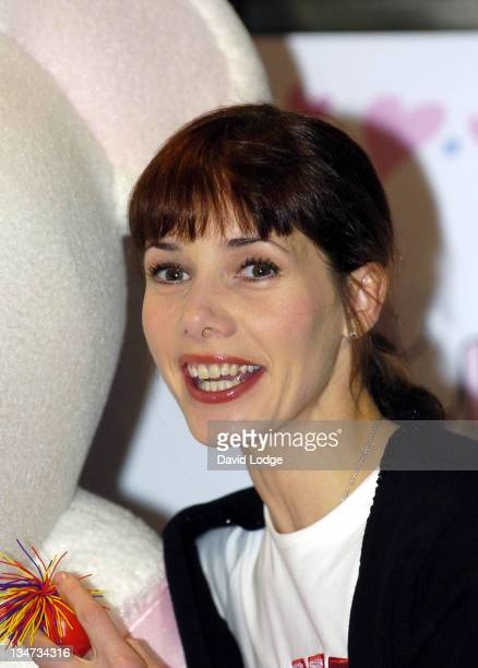 Darcey Bussell during Darcey Bussell and Angelina Ballerina Dance for Red Nose Day 2005 at Harrods in London Great Britain
