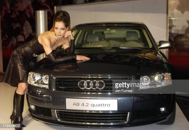 Darcey Bussell during Darcey Bussell Launches The New Audi A8 42 Quattro at London in London Great Britain