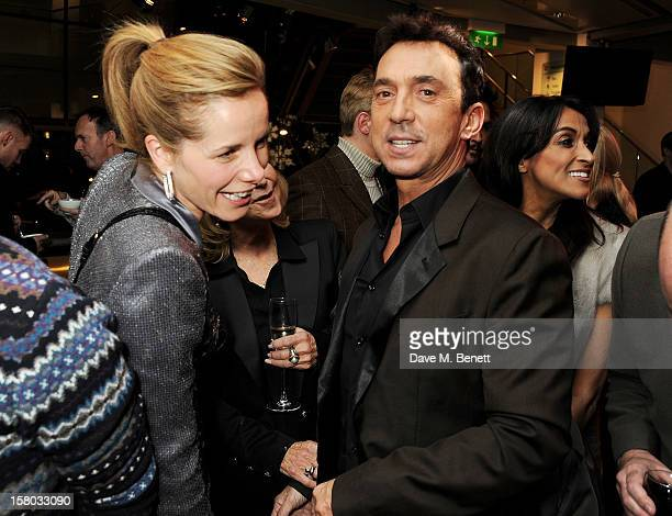 Darcey Bussell Felicity Kendal Bruno Tonioli and Jackie St Clair attend an after party following the press night performance of Matthew Bourne's...