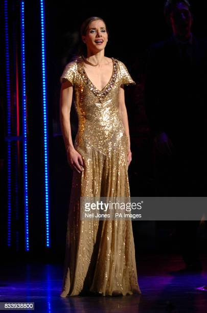 Darcey Bussell performs during the press night for Viva La Diva at the Lyric Theatre The Lowry Salford Quays in Manchester