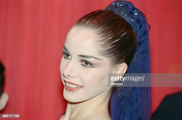 Darcey Bussell pictured at Her Majesty's Theatre Haymarket London at a charity function in support of the AIDs virus In other frames in this set...