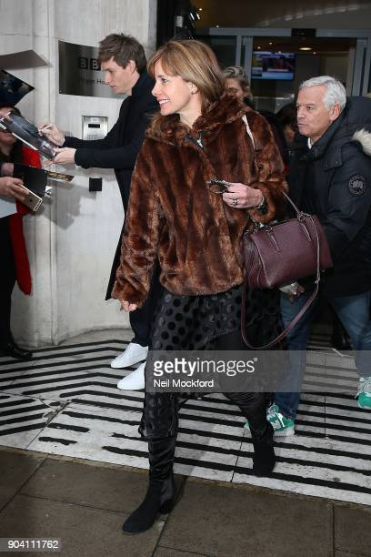 Darcey Bussell seen at BBC Radio 2 on January 12 2018 in London England
