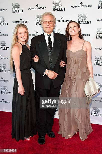Darci Kistler, Peter Martins, and Talicia Martins attend New York City Ballet's Spring 2013 Gala at David H. Koch Theater, Lincoln Center on May 8,...