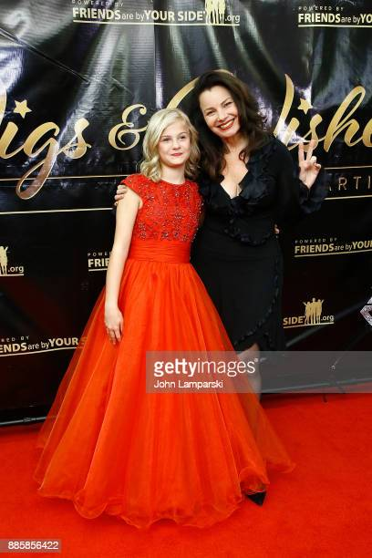 Darci Lynne and Fran Drescher attend the 2017 One Night With The Stars benefit at the Theater at Madison Square Garden on December 4 2017 in New York...