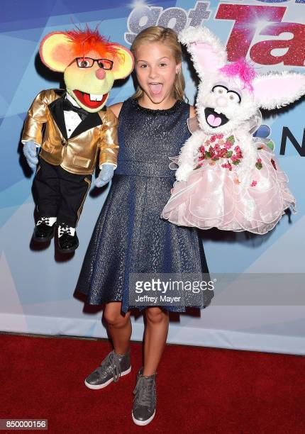 Darci Lynne arrives at the NBC's 'America's Got Talent' Season 12 Finale Week at Dolby Theatre on September 19, 2017 in Hollywood, California.