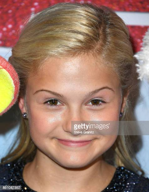 Darci Lynne arrives at the NBC's 'America's Got Talent' Season 12 Finale Week at Dolby Theatre on September 19 2017 in Hollywood California