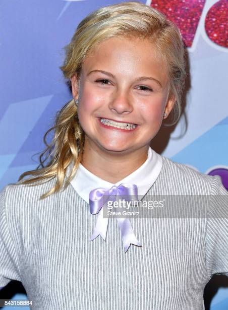 Darci Lynne arrives at the NBC's 'America's Got Talent' Season 12 Live Show at Dolby Theatre on September 5 2017 in Hollywood California