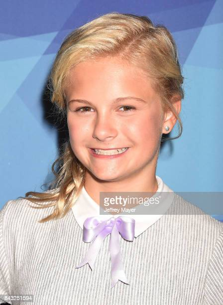 Darci Lynne arrives at the NBC's 'America's Got Talent' Season 12 Live Show at the Dolby Theatre on September 5 2017 in Hollywood California