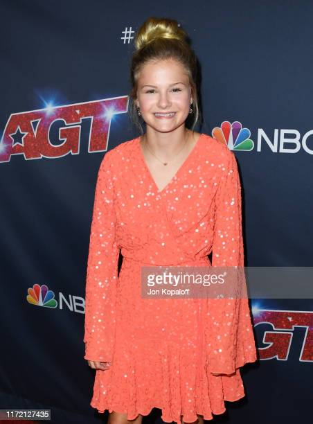 """Darci Lynne attends """"America's Got Talent"""" Season 14 Live Show Red Carpet at Dolby Theatre on September 03, 2019 in Hollywood, California."""