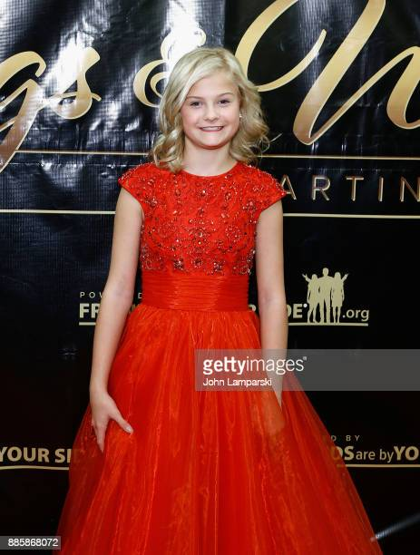 Darci Lynne attends the 2017 One Night With The Stars benefit at the Theater at Madison Square Garden on December 4 2017 in New York City