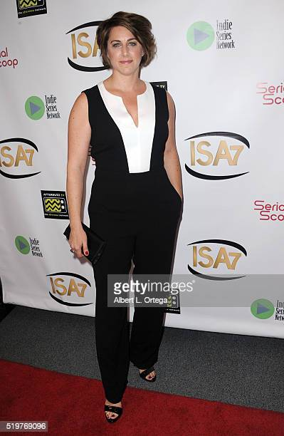 Darci Siciliano at the 7th Annual Indie Series Awards held at El Portal Theatre on April 6 2016 in North Hollywood California