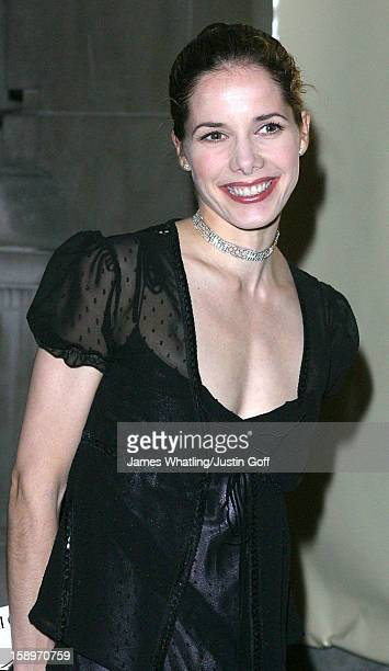 Darcy Bussell Attends A 'Moet Chandon Philip Treacy Fashion Tribute' At London'S Victoria And Albert Museum