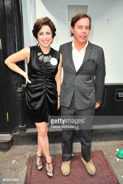 Darcy Miller Nussbaum and Andy Spade attend KATE ANDY SPADE hosts 'FAMILY' a showing by DARCY MILLER NUSSBAUM at Partners Spade NYC on September 23...