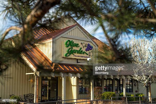 A Darden Restaurants Inc Olive Garden location stands in Reno Nevada US on Thursday March 19 2015 Darden reported a 22 percent increase in...