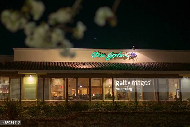 a darden restaurants inc olive garden location stands in vallejo california us on wednesday march 18 - Olive Garden Vallejo