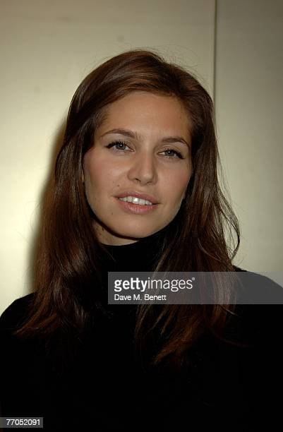 Daria Dasha Zhukova attends the opening party of Boodles new shop on New Bond Street at Boodels on September 26 2007 in London England