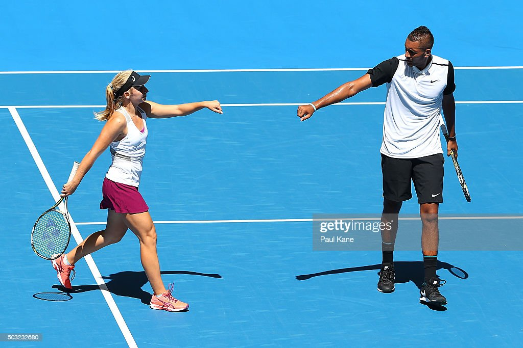 2016 Hopman Cup - Day 1