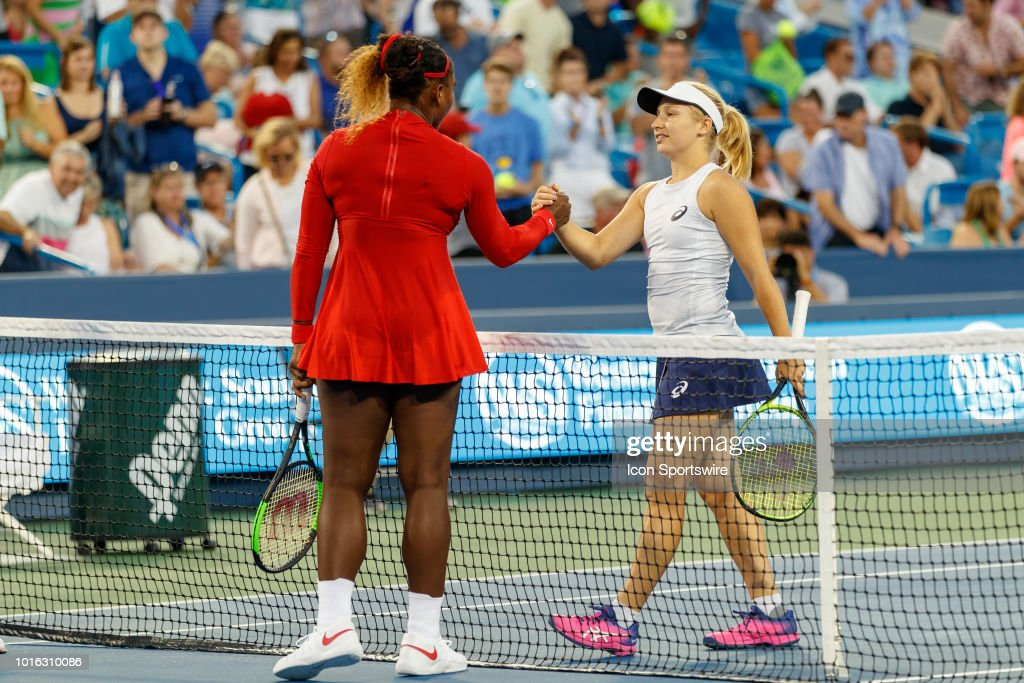 TENNIS: AUG 13 Western & Southern Open : News Photo
