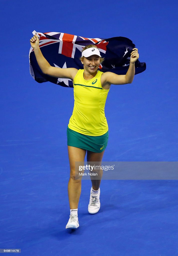 Australia v Netherlands - Fed Cup World Group Play-off