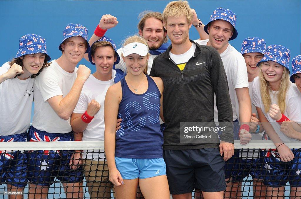 Off Court At The 2016 Australian Open : News Photo