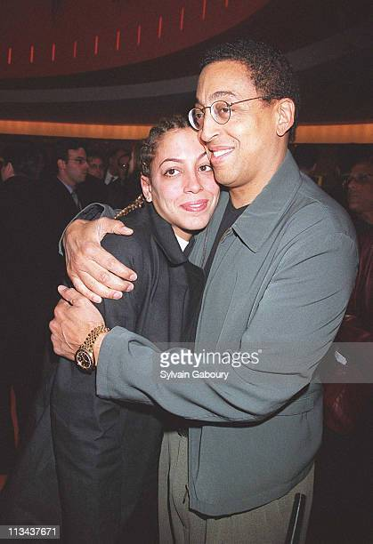 Daria Hines, Gregory Hines during Showtime's First Annual Programming Preview Luncheon at Brasserie 8 1/2 in New York, New York, United States.
