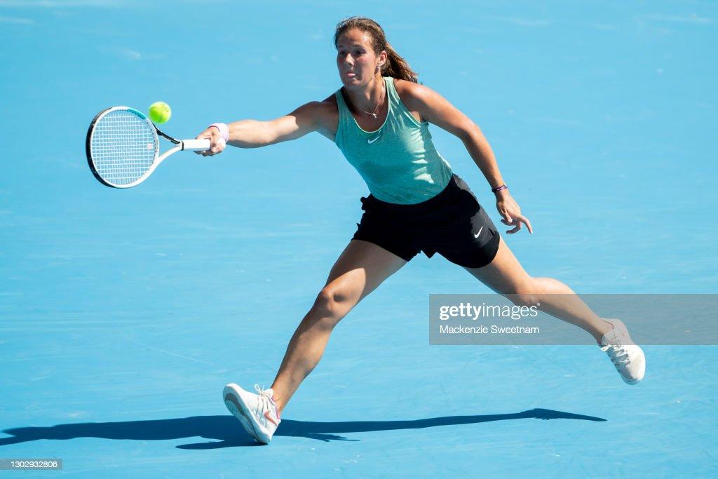 2021 Australian Open: Day 12 : Fotografía de noticias