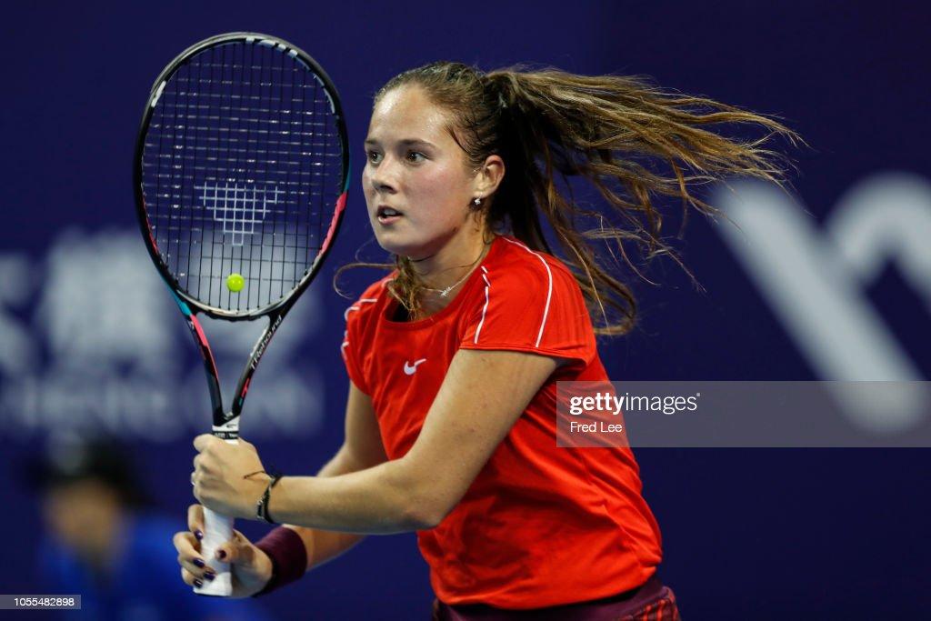 2018 WTA Elite Trophy Zhuhai - Day 1 : News Photo