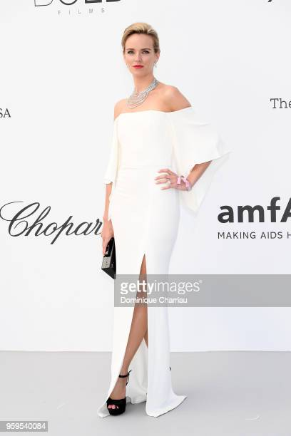 Daria Strokous arrives at the amfAR Gala Cannes 2018 at Hotel du CapEdenRoc on May 17 2018 in Cap d'Antibes France