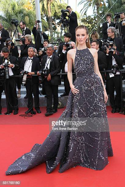 Daria Strokous attends a screening of 'Loving' at the annual 69th Cannes Film Festival at Palais des Festivals on May 16 2016 in Cannes France
