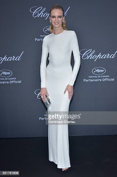 Daria Strokous attends the Chopard Party at Port Canto during the 69th annual Cannes Film Festival on May 16 2016 in Cannes France