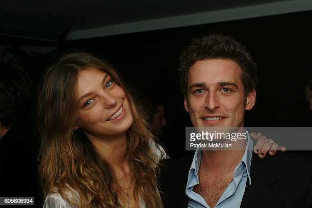 Daria Werbowy and Alexi Lubomirski attend Lancôme Hosts Fragrance Launch of Hypnose to benefit Studio in a School at Hotel on Rivington on February...