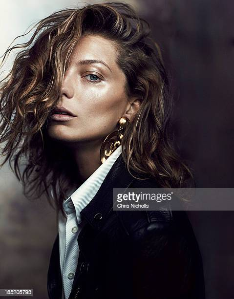 Daria Werbowy for Fashion Magazine on June 1, 2013 in Toronto, Ontario. PUBLISHED IMAGE.
