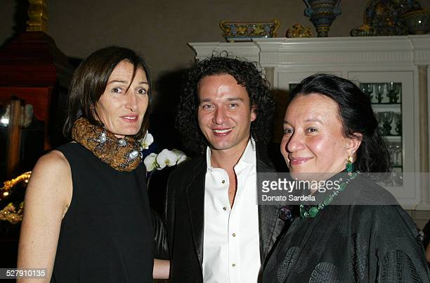 Darian Shapiro Sri and Helen Von Bueren during Lotus Arts De VivreFine Jewelry And Object D'art Preview Their Collection In Los Angeles To Benefit...