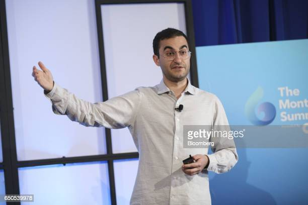 Darian Shirazi chief executive officer of Radius Intelligence Inc speaks during the Montgomery Summit in Santa Monica California US on Thursday March...