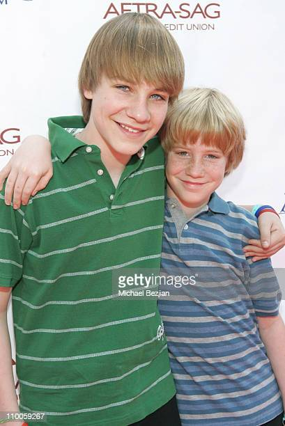 Darian Weiss and Benjamin Weiss during 2007 CARE Awards Presented by the Bizparentz Foundation at Universal Studios Hollywood in Universal City CA...