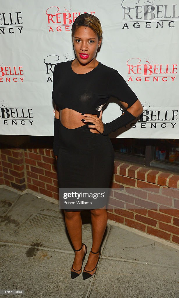 Dariana Colon-Bibb attends the Host Rebelle Agency PR Launch party at La Mongerie on August 16, 2013 in Atlanta, Georgia.