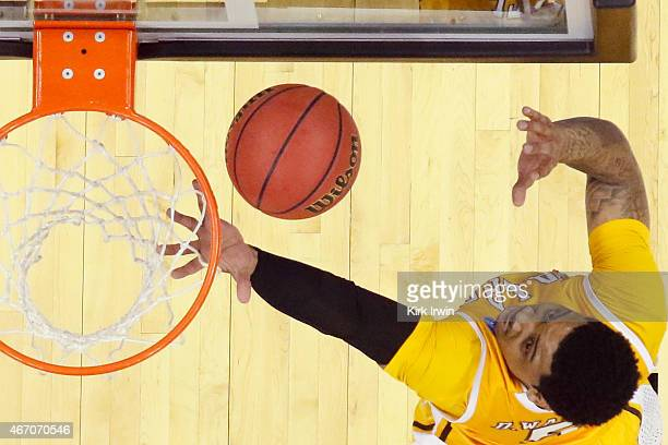 Darien Walker of the Valparaiso Crusaders takes a shot against the Maryland Terrapins during the second round of the Men's NCAA Basketball Tournament...