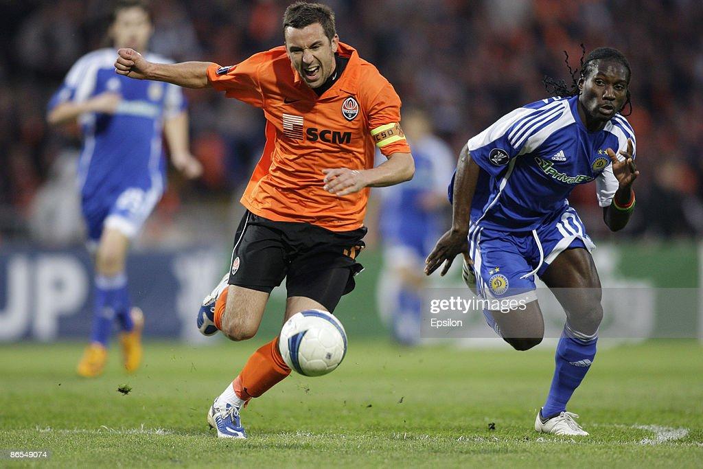 FC Shakhtar Donetsk v FC Dynamo Kiev - UEFA Cup : News Photo